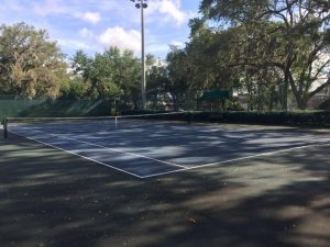 Tennis Facility at Greenwood Lakes Park