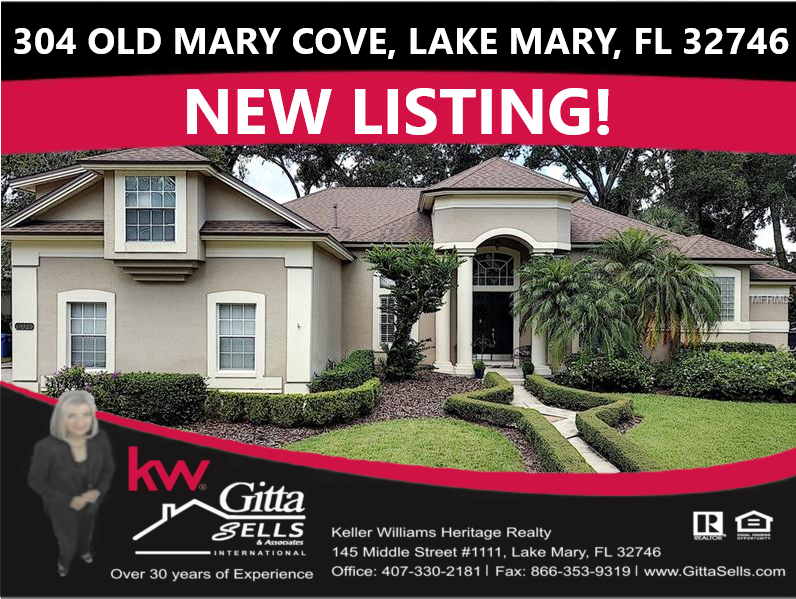304 Old Mary Cove, Lake Mary, FL 32746 | Gitta Sells and Associates