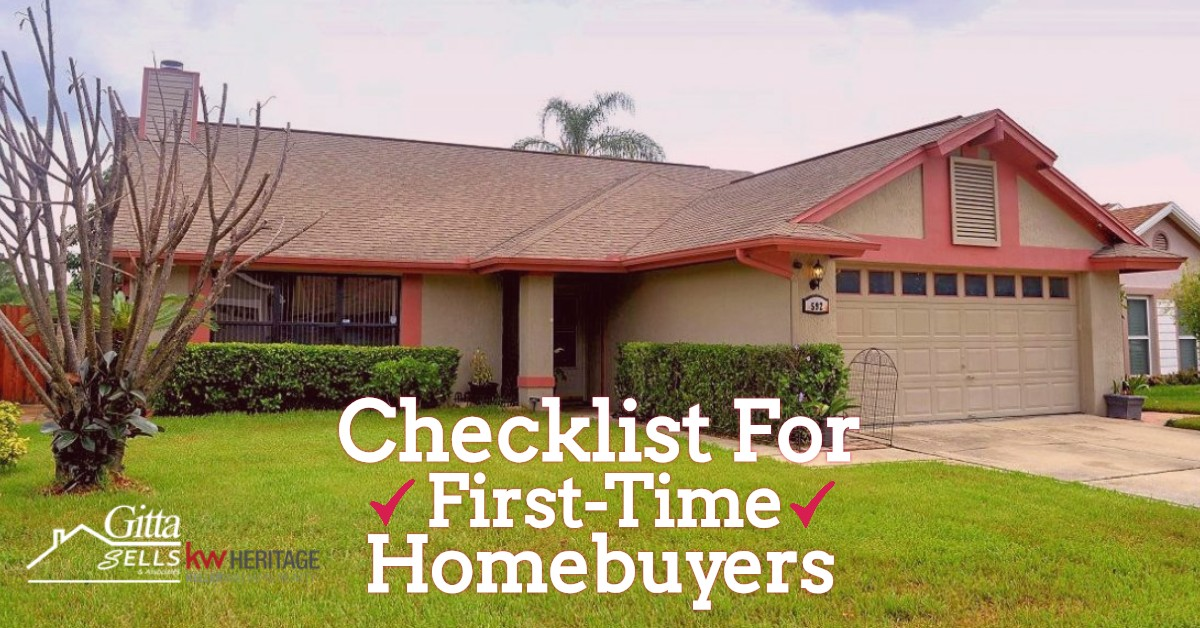 Lake Mary Real Estate: Checklist For First-Time Homebuyers