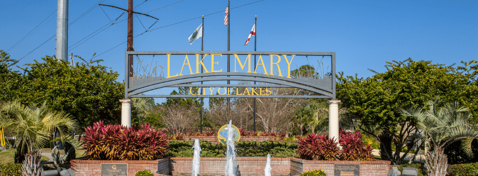 lake mary fountain