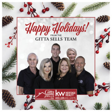 Happy holidays gitta sells