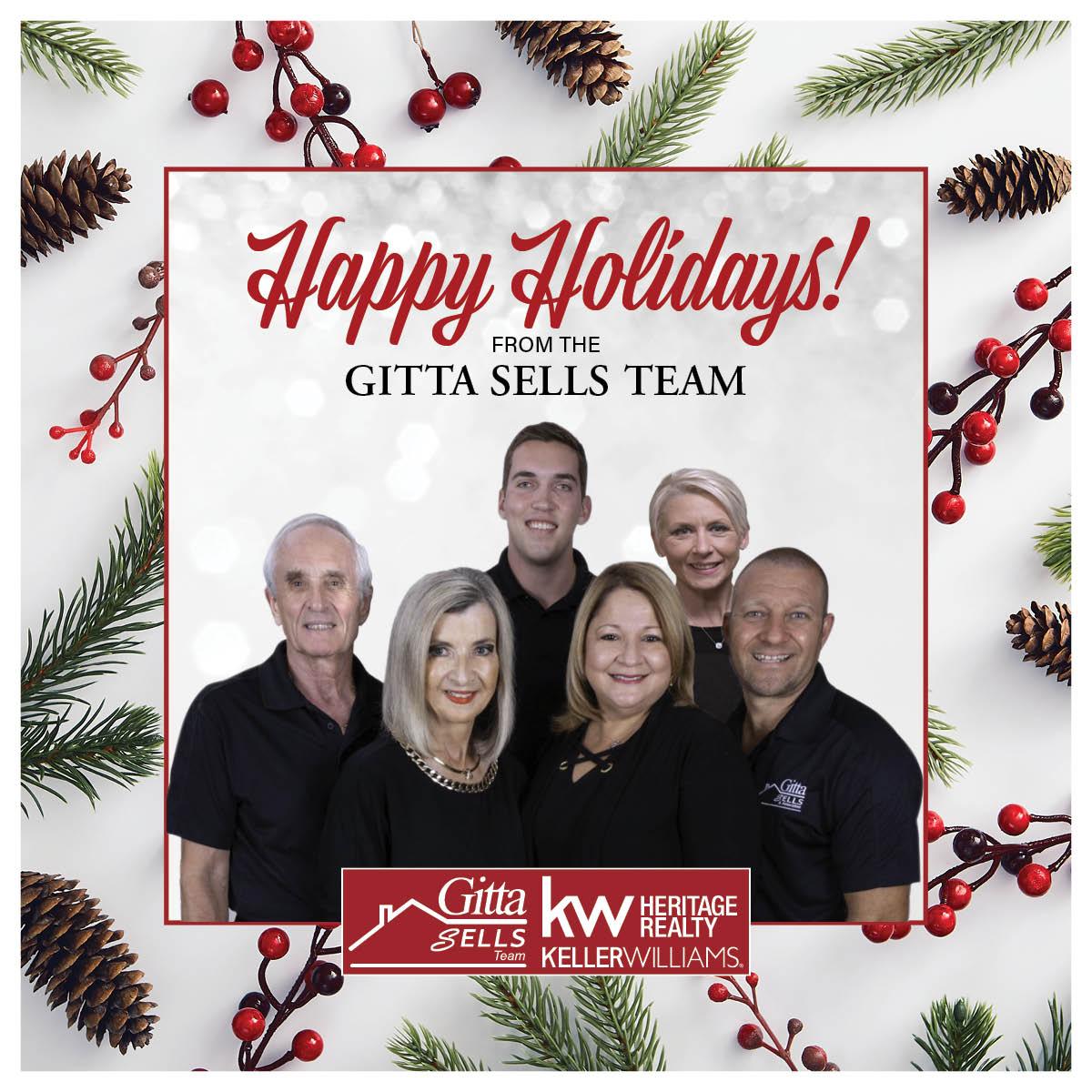 Happy holidays gitta sells